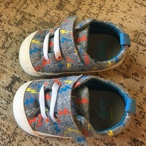 See Kai Run Shoes - Hardly Worn Baby Boy Shoes